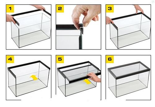 Сделаем крышку для аквариума своими руками