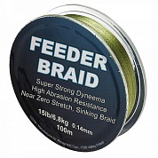 Леска Sufix Feeder braid Gore Olive Green 100м 0.14мм