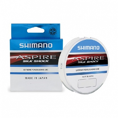 Леска Shimano Aspire Silk Shock 50м 0,20мм 4,4кг